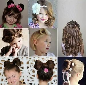 Coiffure Facile Pour Petite Fille : coiffure jeune fille ~ Nature-et-papiers.com Idées de Décoration