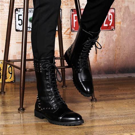 Online Get Cheap Mens Punk Boots Aliexpress Alibaba