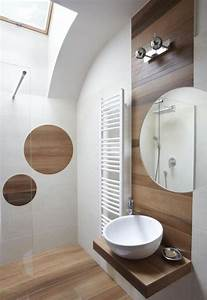Le carrelage imitation bois en 46 photos inspirantes for Imitation carrelage salle de bain