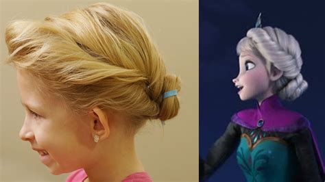 Disney's Frozen Hair Tutorial // Elsa's Coronation