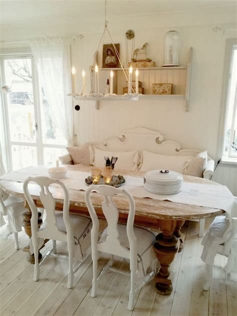 rustic shabby chic dining room 26 ways to create a shabby chic dining room or area shelterness