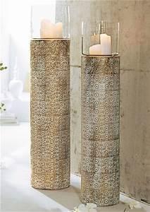 Windlicht Weiß Metall : mailord collection boden windlicht online kaufen otto ~ Markanthonyermac.com Haus und Dekorationen