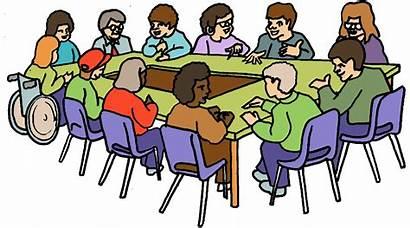 Meeting Clipart Ladies Teacher Parent Meetings Clip