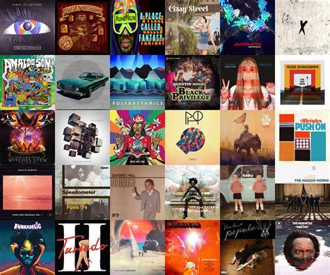 Best Album 30 Best Albums Of 2017 Funkatopia