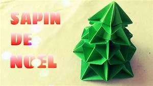 Faire Des Origami : d coration de no l comment faire un sapin de no l en origami youtube ~ Nature-et-papiers.com Idées de Décoration