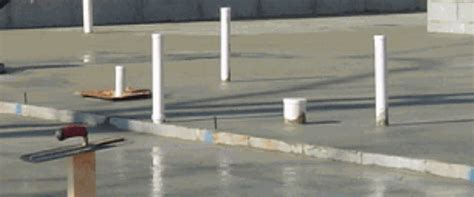 Plumbing in a Concrete Slab