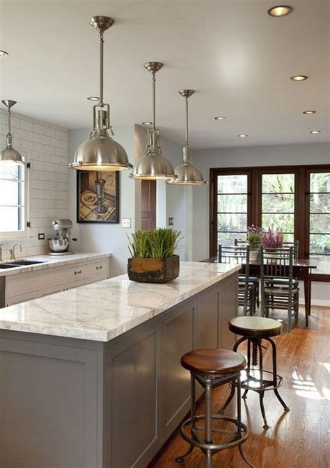 This is a pretty trendy kitchen lighting idea, but it's not overly expensive. 30+ Awesome Kitchen Lighting Ideas 2017