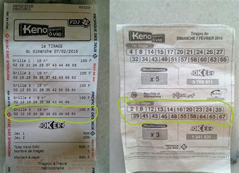keno gagner au loto et 224 euro millions