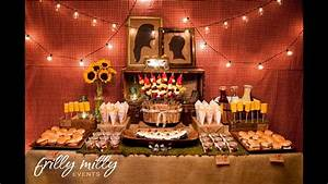 Couples themed wedding shower decorations ideas youtube for Couples wedding shower decoration ideas
