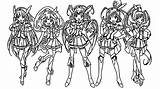 Glitter Force Coloring Pages Itsfunneh Printable Sheets Para Colouring Colorir Print Doki Anime Candy Desenhos Characters Coloringhome Pintar Desenho Popular sketch template