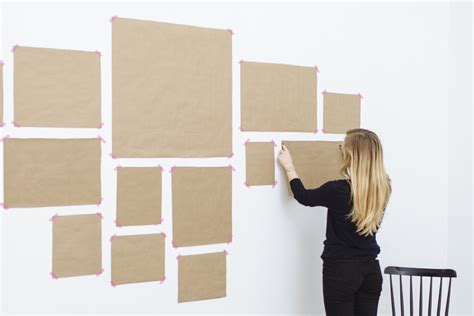 how to make a gallery wall how to create the perfect gallery wall grace made