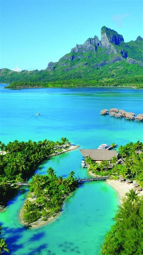 emerald french polynesia tahiti  archipelago wallpaper