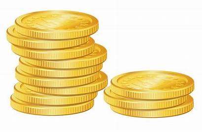 Coins Clipart Clip Money Gold Stack Coin