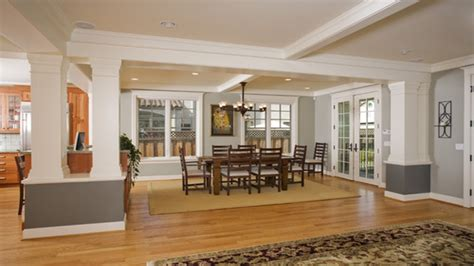 Craftsman Style Home Interior by Bookcases Atlanta Craftsman Style Home Interiors Dining