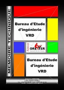 Mmoire Technique Bureau D39tude D39ingnierie VRD