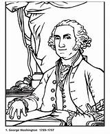 George Washington Coloring Dollar Bill Printables President Printable Presidents History Biography Cartoon Usa Mini Facts Kindergarten Patriotic Sheets Revolution Presidential sketch template