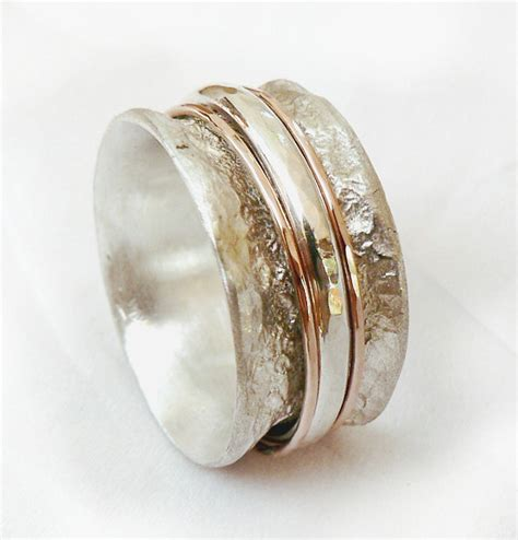 wedding ring spinner special spinner ring spinner wedding band organic ring