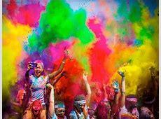 Colour Throwing Festival The Colour Run HoneyKids Asia