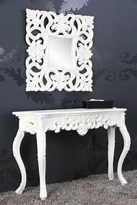 Barock Make Up : sidetable model venice wit 15628 ~ Orissabook.com Haus und Dekorationen