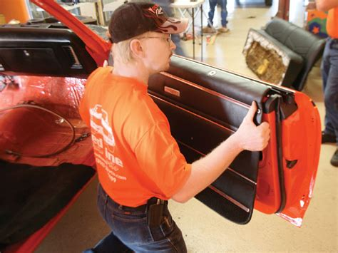 Upholstery Auto Repair by Auto Upholstery Repair Rebuild Your Door Panels