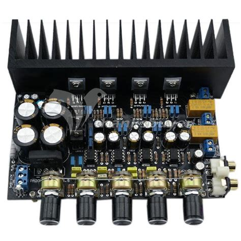 Amplifier Board Channel Amp Bass Differential