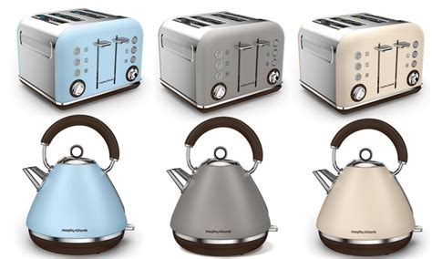 morphy richards kettle and toaster set morphy richards kettle toaster groupon goods