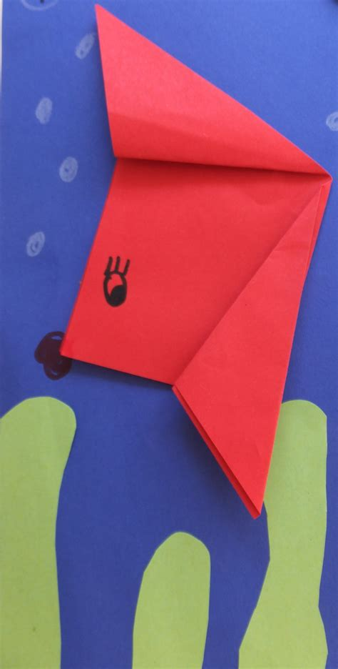 tiere aus papier falten tiere aus papier basteln fische falten kinderleicht