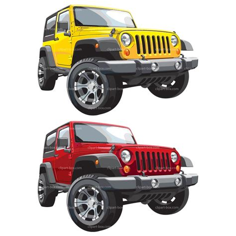 yellow jeep clipart jeep wrangler clipart cliparts galleries