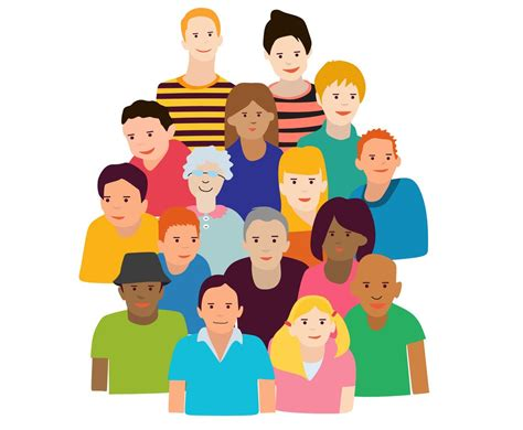 Group Of People Vector Vector Art & Graphics | freevector.com