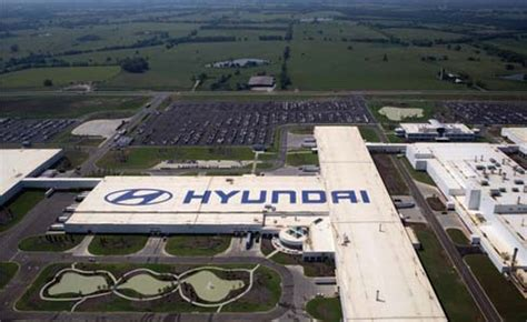 Hyundai Plant Montgomery by Auto Plant Construction Design Build By Gray Hyundai