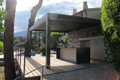 cuisine été cuisine d 39 été et deck piscine réalisation inside création