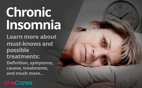 chronic insomnia mustknows   treatments shecares