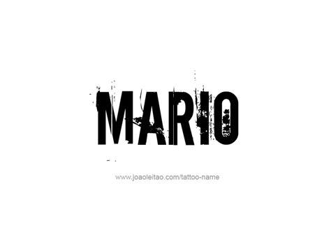 mario  tattoo designs