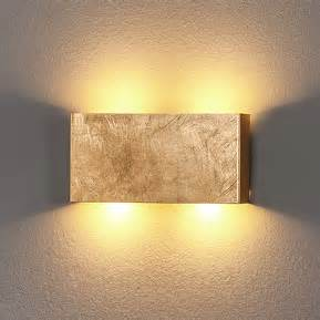 Lamp Mount by Goudkleurige Led Wandlamp Maja Dimbaar 6722197