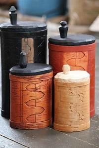 Birch Bark Box Tutorial Trä, Smide och Träslöjd