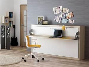 Schrankbett Mit Schreibtisch : schrankbett wandbett mit schreibtisch singlo desk deluxe ~ Eleganceandgraceweddings.com Haus und Dekorationen