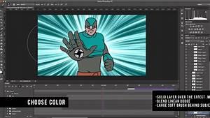 photoshop 2d animated star burst background adobe With photoshop animation templates