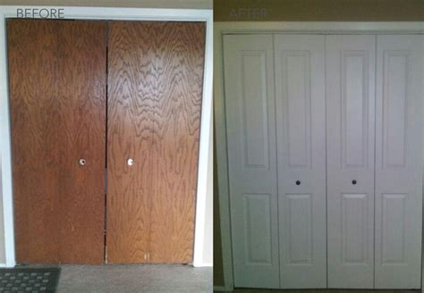 before and after transformations modern closet