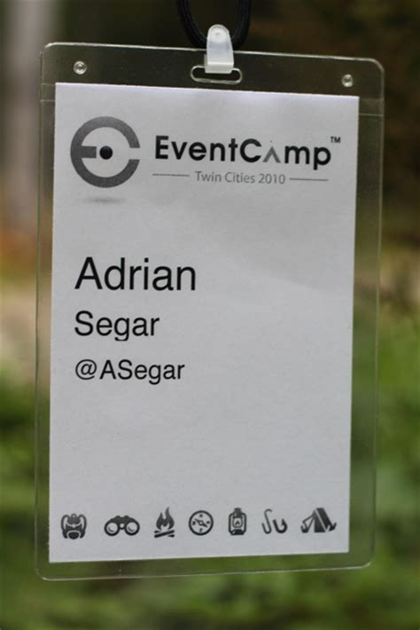 Event Name Tag Template by Anatomy Of A Name Badge Conferences That Work