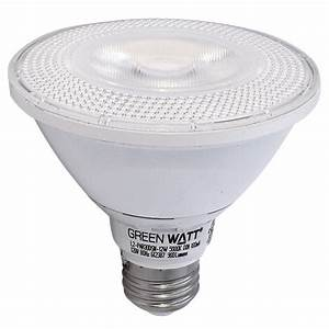 Recessed lighting led watt par short neck k
