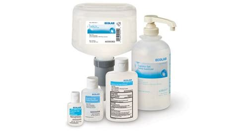 hand sanitizers ecolab