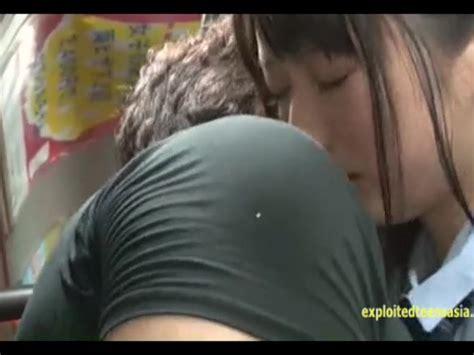 Jav Schoolgirl Ambushed On Public Bus Fucked Standing Up