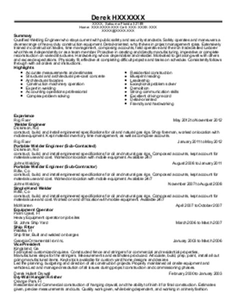 Jeffrey Webster Resume by Houseman Handyman Resume Exle Webster