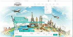 Travel Agency Bootstrap Template By Mecovache