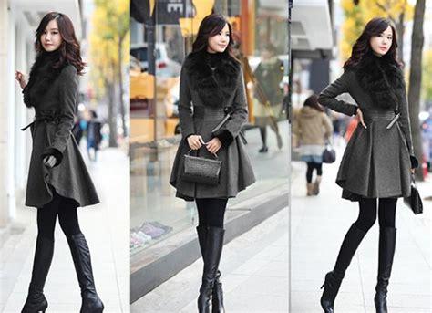2018 Classic Women Woolen Coat Luxury Style Slim Women
