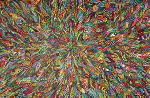 Mushroom Art Psychedelic Eye