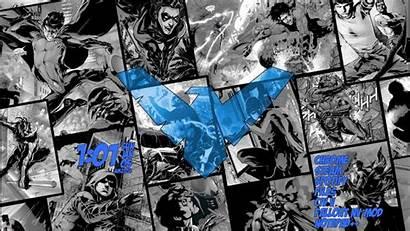 Nightwing Rainmeter Kecbio Batman Wallpapers Amazing Posted