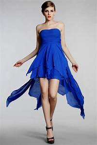 Short royal blue bridesmaid dresses naf dresses for Royal blue short wedding dresses