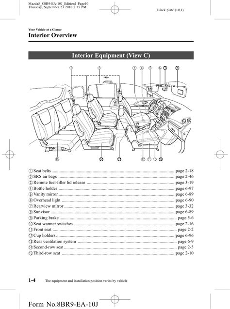 book repair manual 2012 mazda mazda3 seat position control 2012 mazda mazda5 minivan owners manual provided by naples mazda
