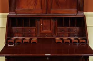 antique secretary desk large secretary desk mahogany